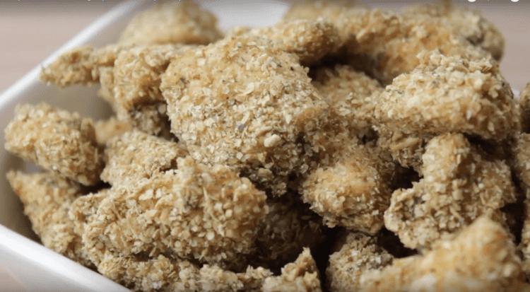 Empanado de Frango (Chicken Popcorn)