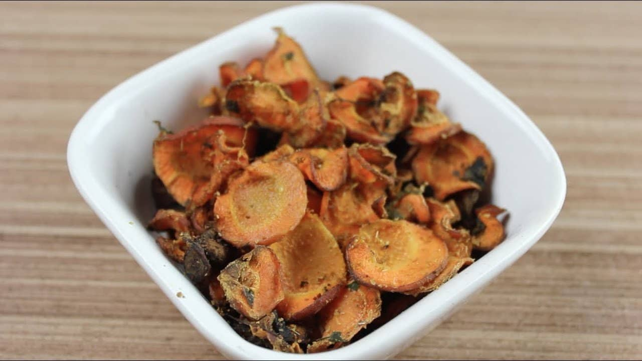 Cenoura Chips