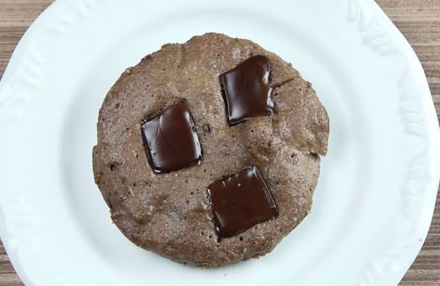 Cookie Low Carb de Microondas
