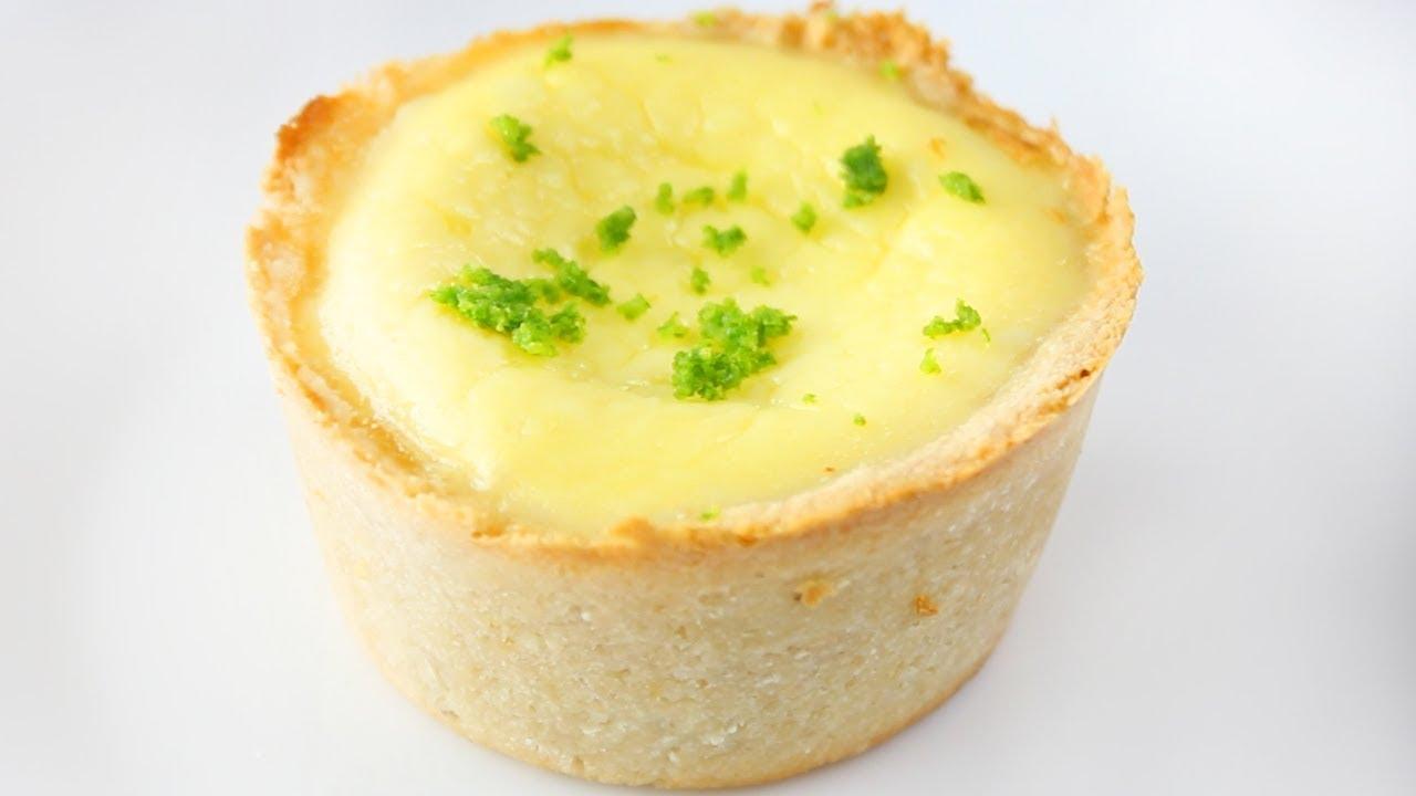 Mini Cheesecake de Limão