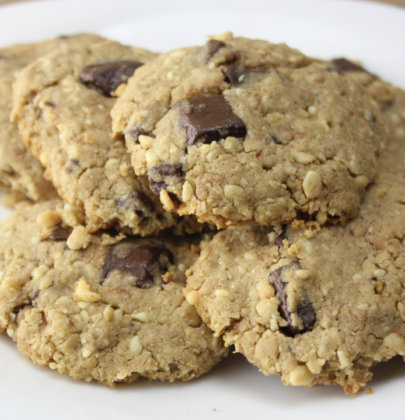 Cookie Fit de Amendoim com Chocolate