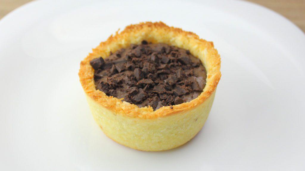 Torta Fit de Brigadeiro Sem Leite Condensado