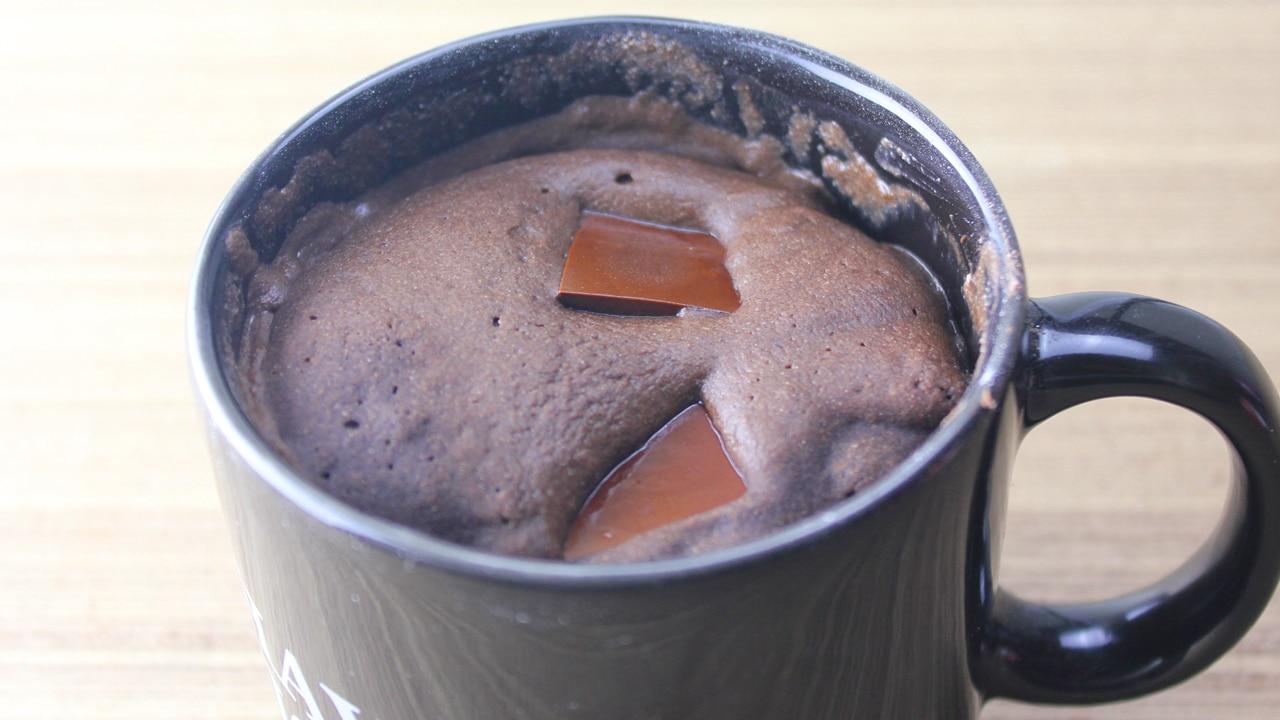 Bolo de Caneca de Chocolate Fit