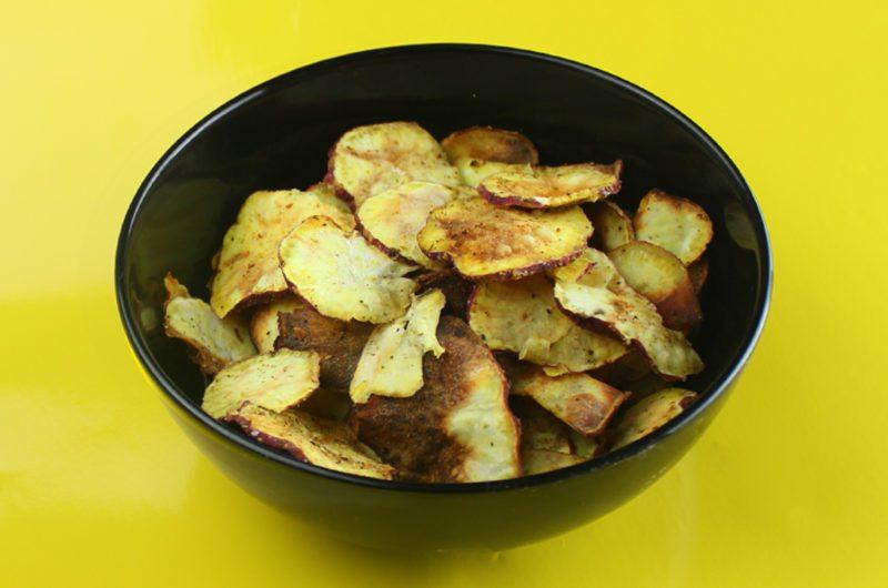 Chips de Batata Doce na Airfryer