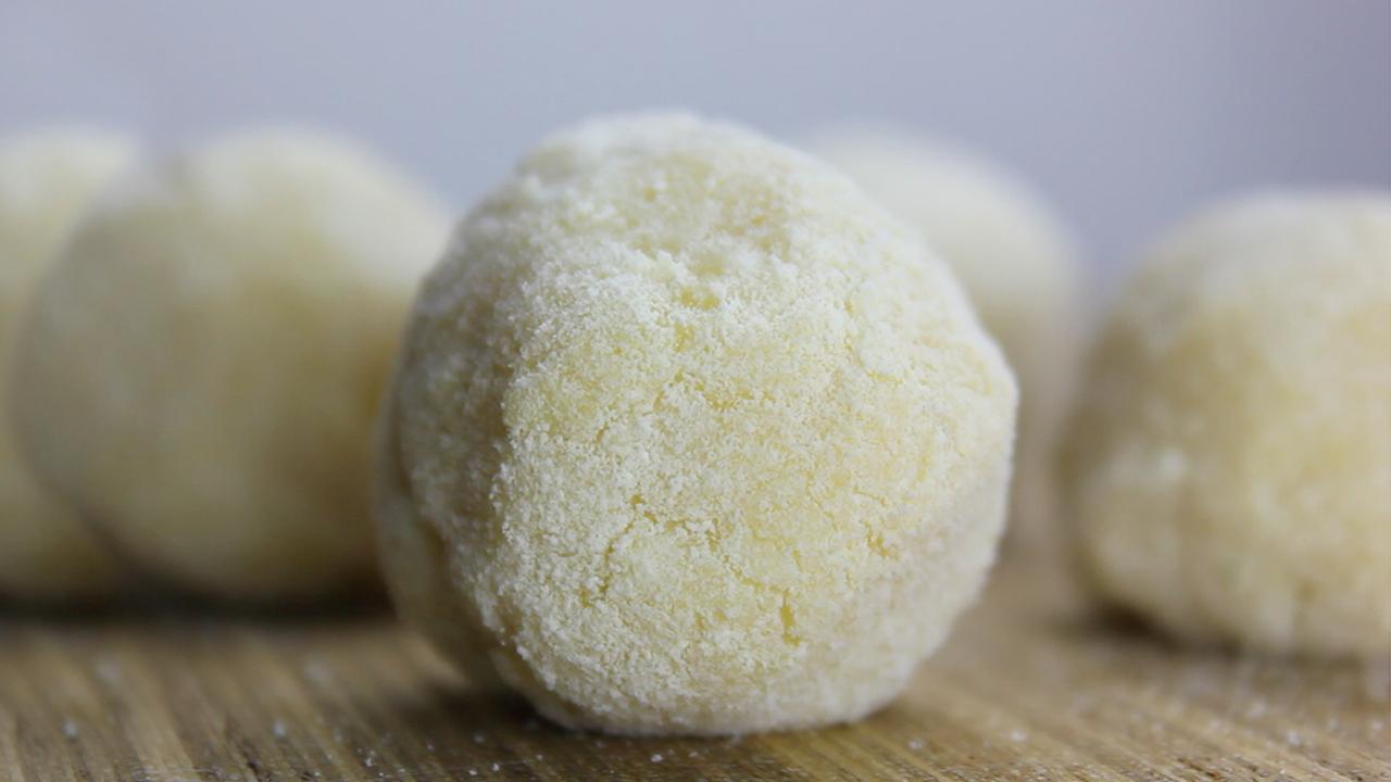 Brigadeiro Fit Branco | Sem Açúcar e só 4 Ingredientes