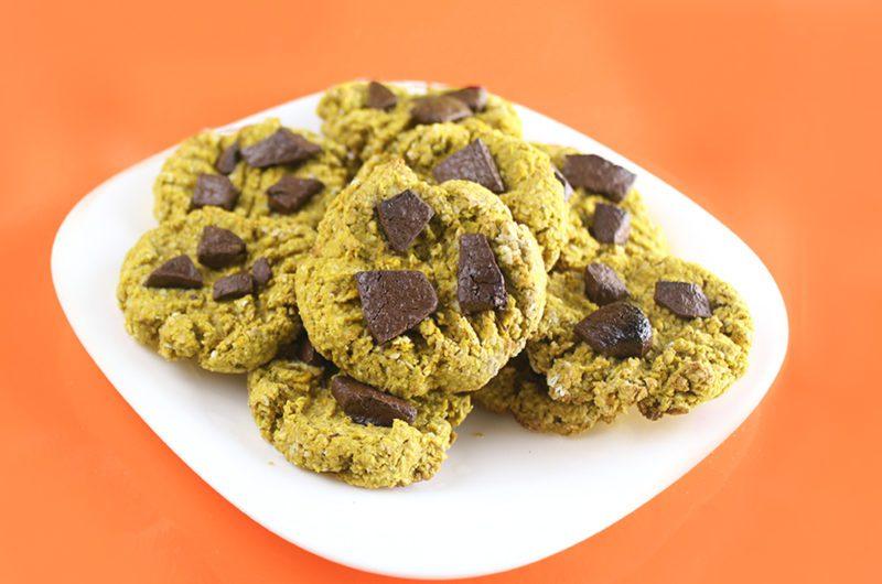 Cookie Integral de Aveia com Abóbora
