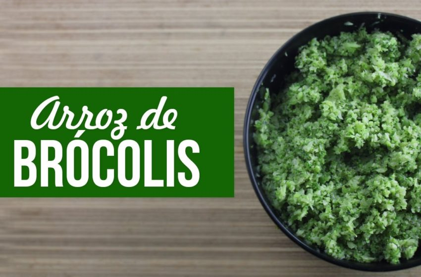 Arroz Fit de Brócolis