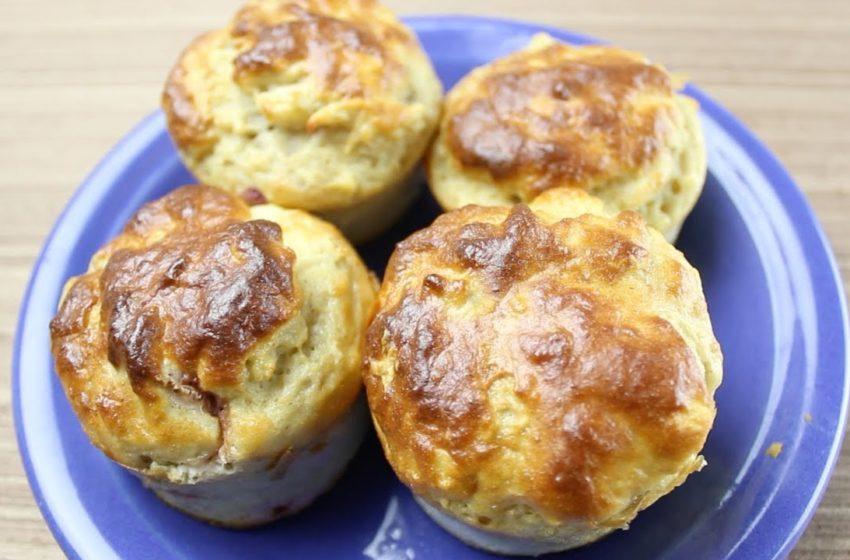 Muffin de Chocolate Branco com Morango