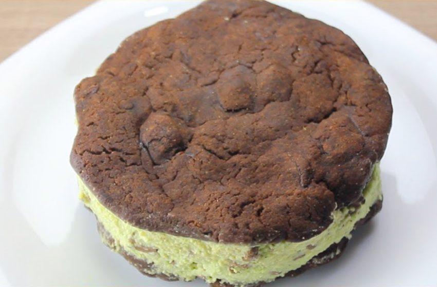 Sanduíche de Cookies Sem Glúten