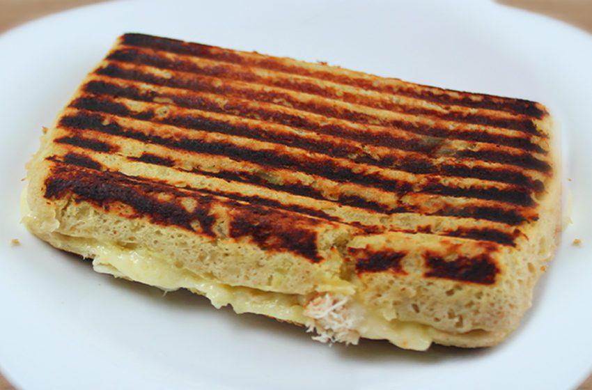Pão de Batata Doce com 2 Ingredientes