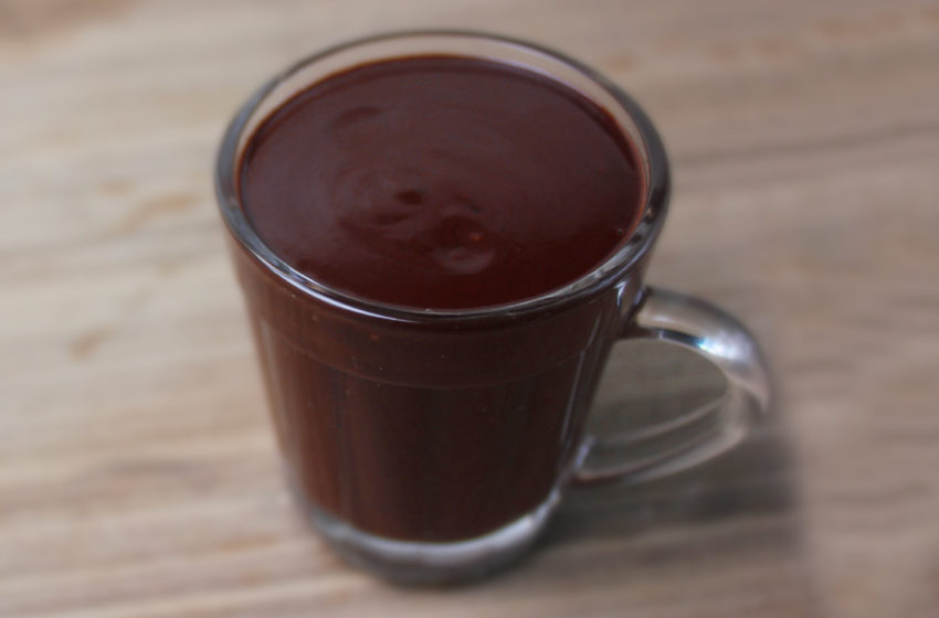 Chocolate Quente de 2 Ingredientes