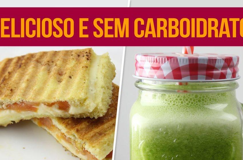 Café da Manhã Sem Carboidrato