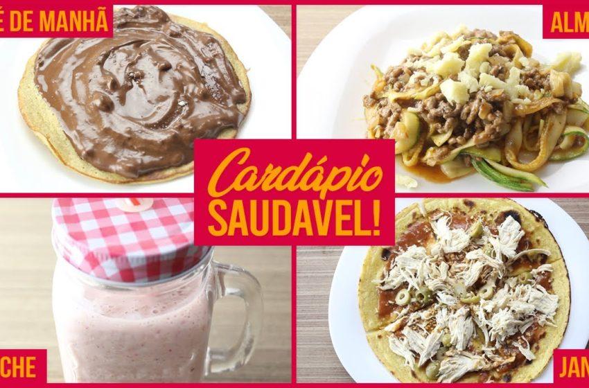 Cardápio Fit Saudável! Receitas para Café, Almoço, Lanche e Jantar!