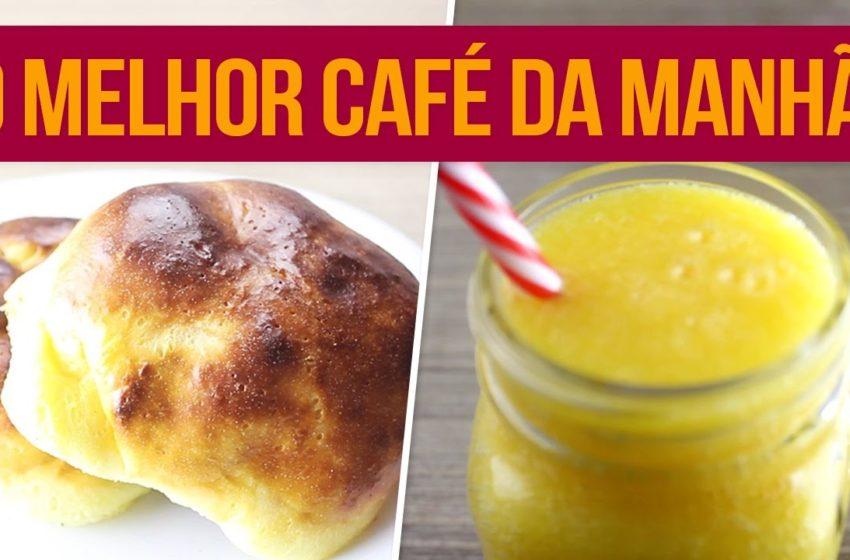 Café da Manhã Saudável para começar a semana!