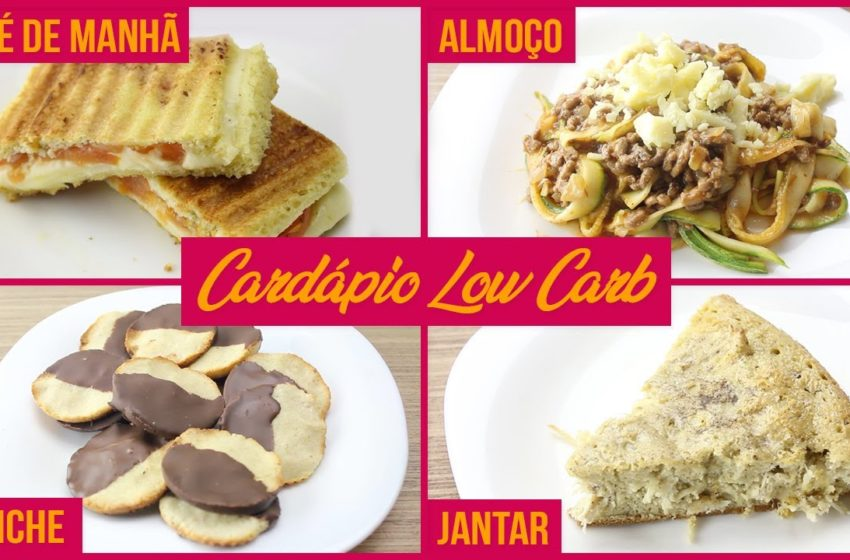 Cardápio Low Carb Completo