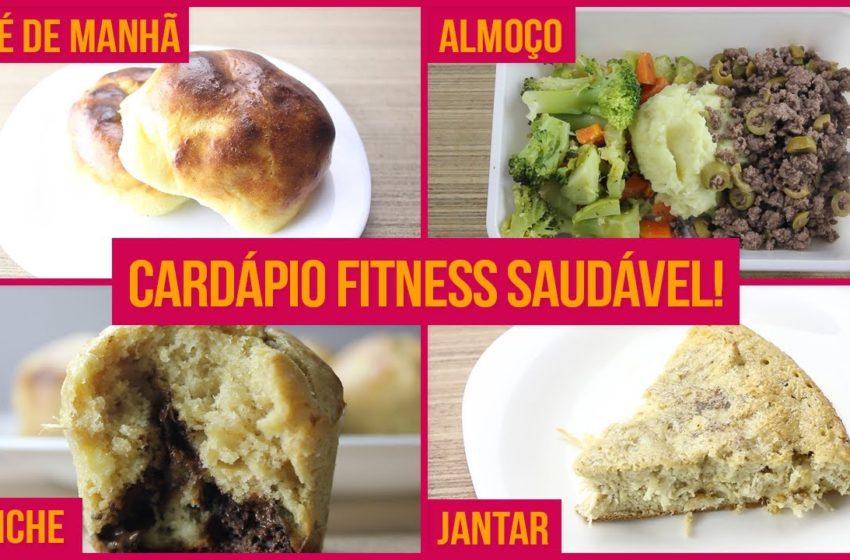 Cardápio Fitness Saudável