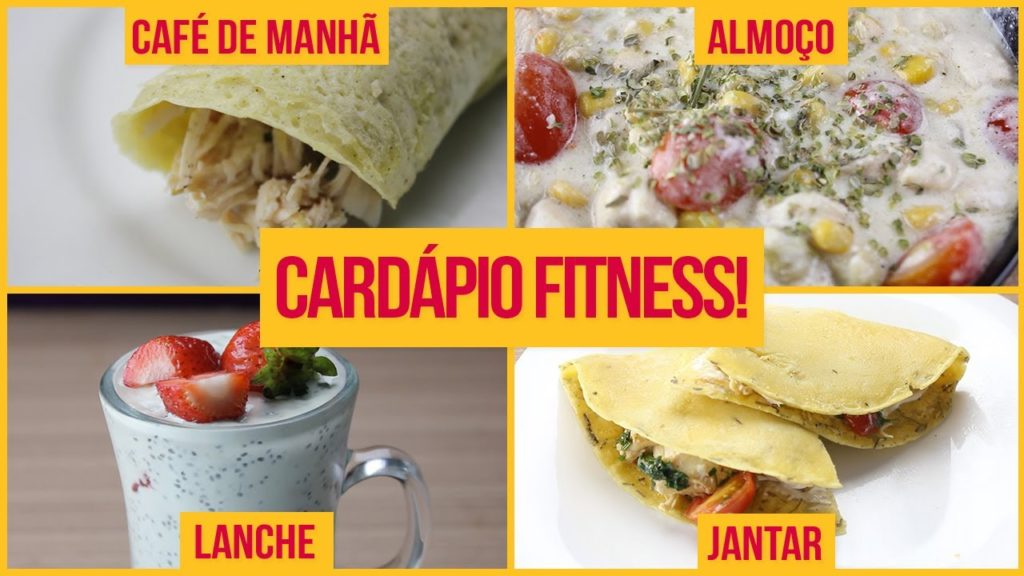 Cardápio Fitness Completo