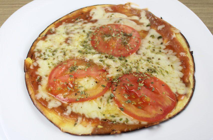 Pizza Fit de Frigideira