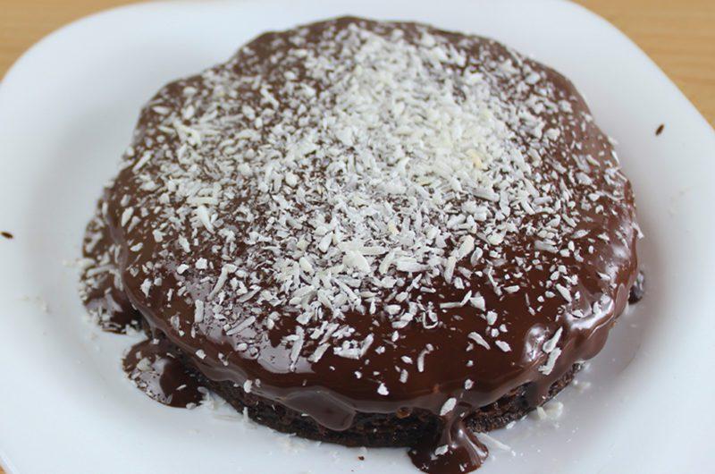 Bolo Sem Farinha de Chocolate com Coco