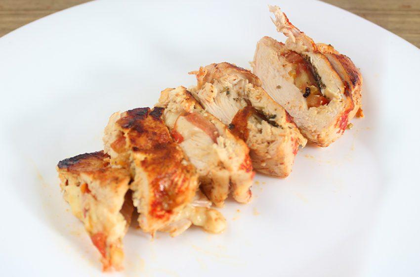 Frango Recheado Delicioso e Fácil de Fazer