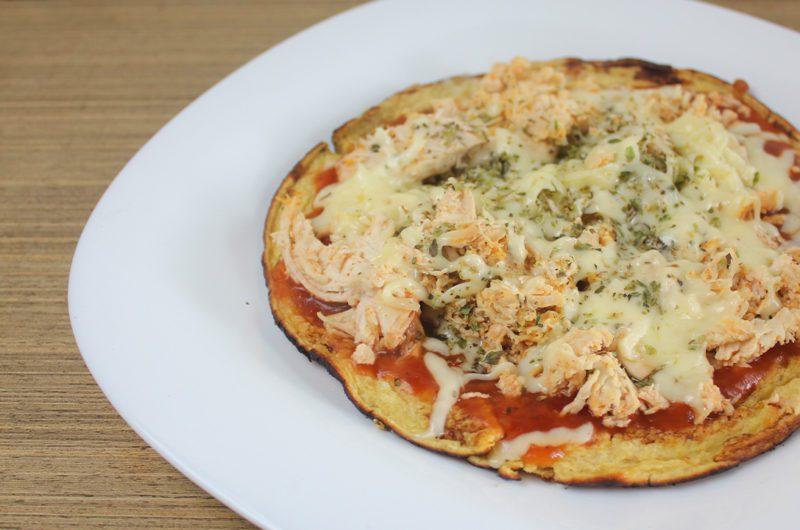 Pizza de Frango Fit de Frigideira
