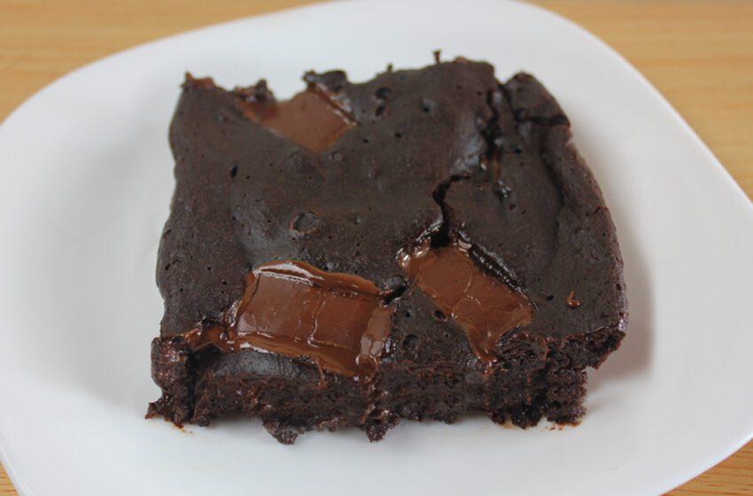 Brownie Saudável Sem Farinha