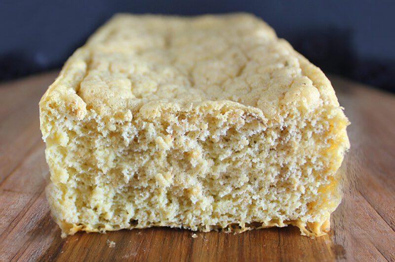 Pão de Aveia de 3 Ingredientes