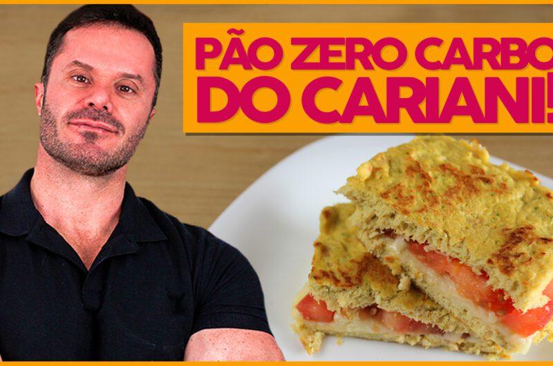 Pão Zero Carbo do Renato Cariani