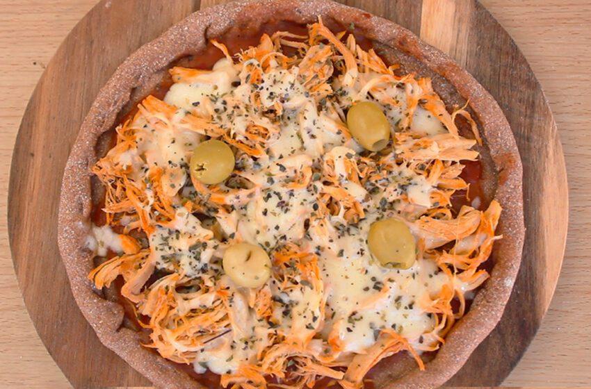 Pizza Integral Massa de 2 Ingredientes