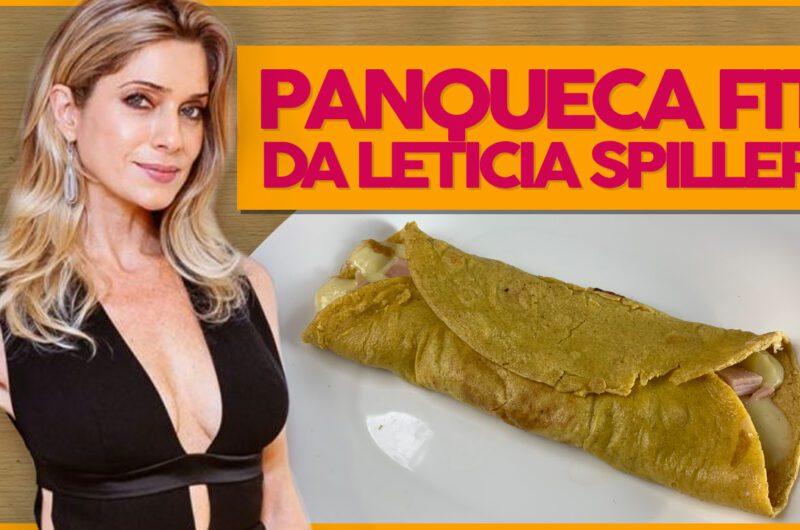 Panqueca Saudável de Letícia Spiller