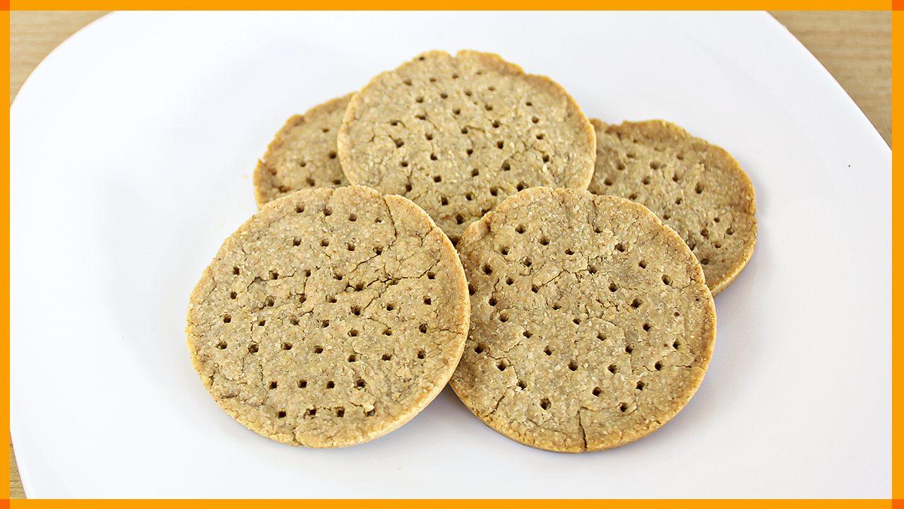Biscoito Cracker de 3 Ingredientes