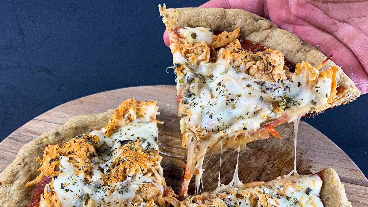 Pizza Fácil de Batata Doce